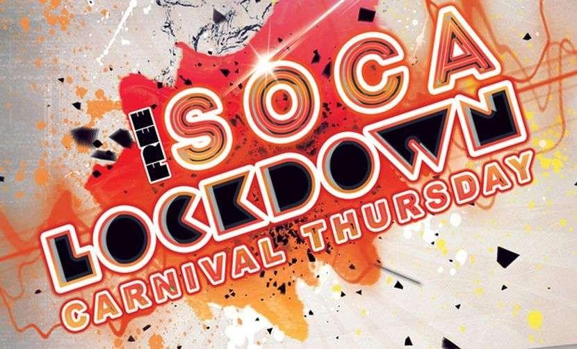 Soca Lockdown Carnival Thursday Party