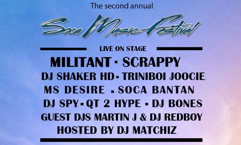 Soca Music Festival 2015