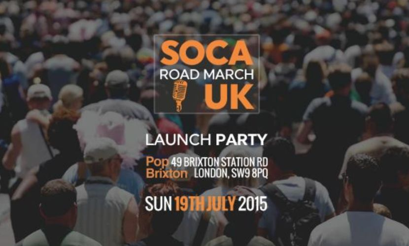 Soca Road March 2015 London