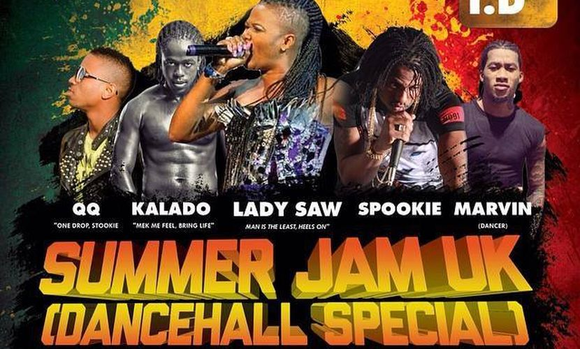 Summer Jam UK Flyer 2015