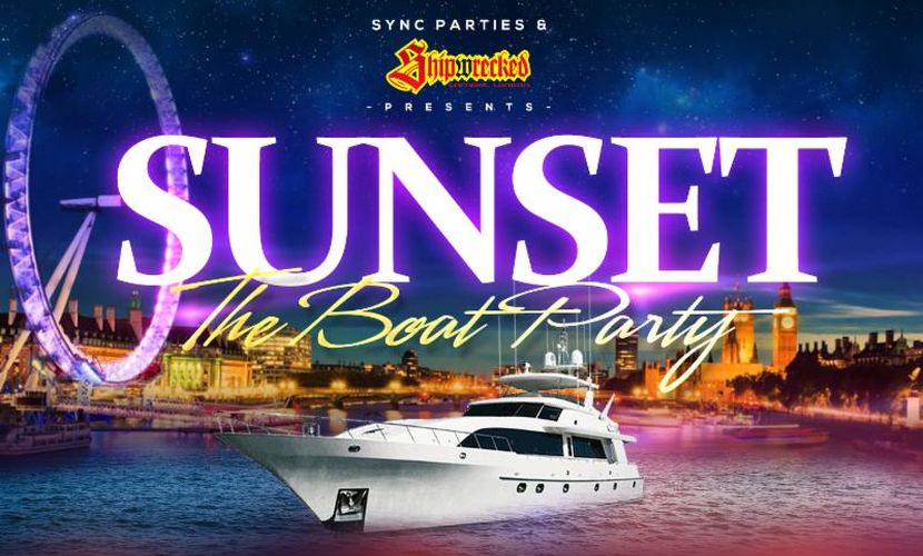 Sunset Thames Boat Party