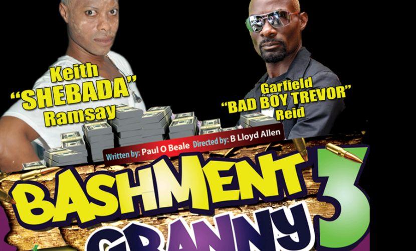 Bashment Granny 3 2015 Theatre Flyer