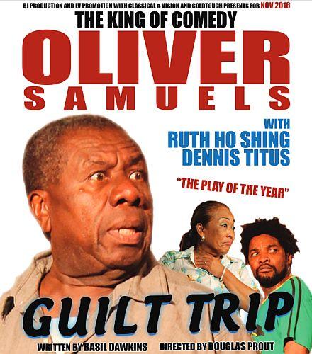 Oliver Samuels Guilt Trip Tour 2016