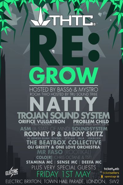 THTC RE: Grow Event flyer