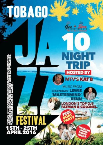 Tobago Jazz Experience 2016-flyerTobago Jazz Experience 2016