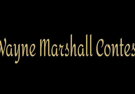 Wayne Marshall Contest 2016