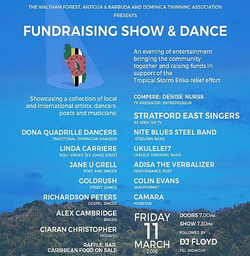 WF Twinning Dominica Fundraising show & dance