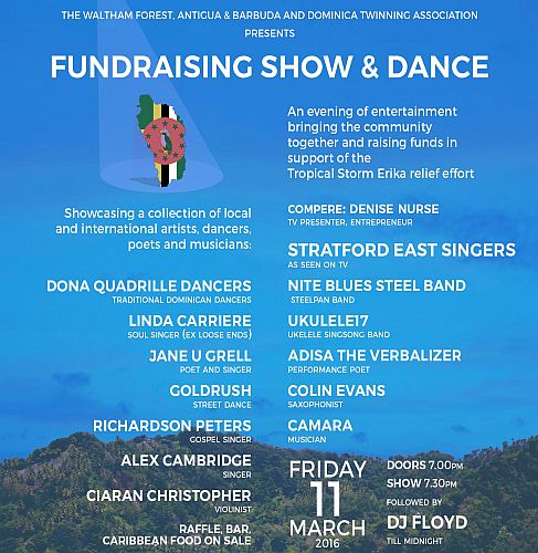 WF Twinning Dominica Fundraising show & dance