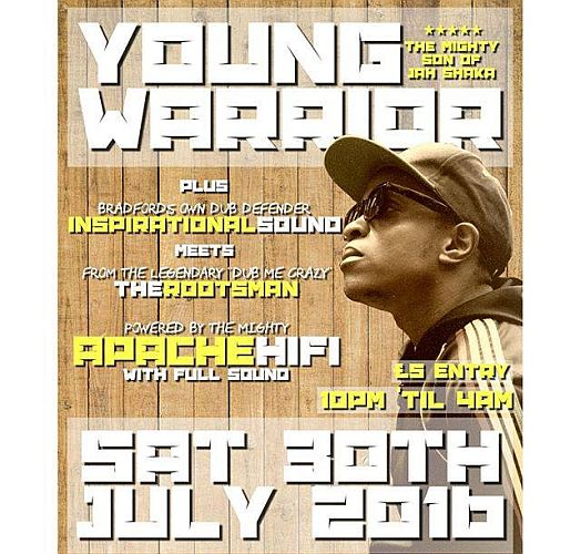 Young Warrior Live July 2016